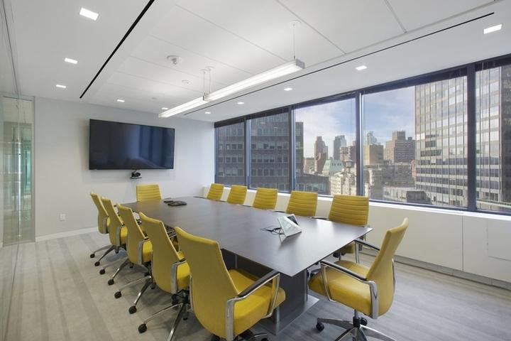 Fox rothschild office by francis cauffman new york city