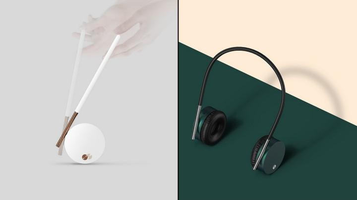 Gravity-defying headphones by Kyumin Ha from Naver Labs ...