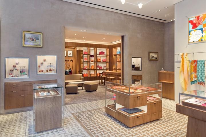 爱马仕英国伦敦店设计