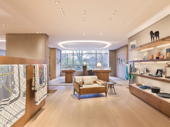 Herms store relocation by Rdai London UK Retail Design Blog