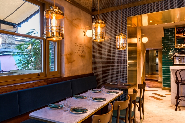 jan restaurant by i am london uk - Restaurant Open Kitchen Design