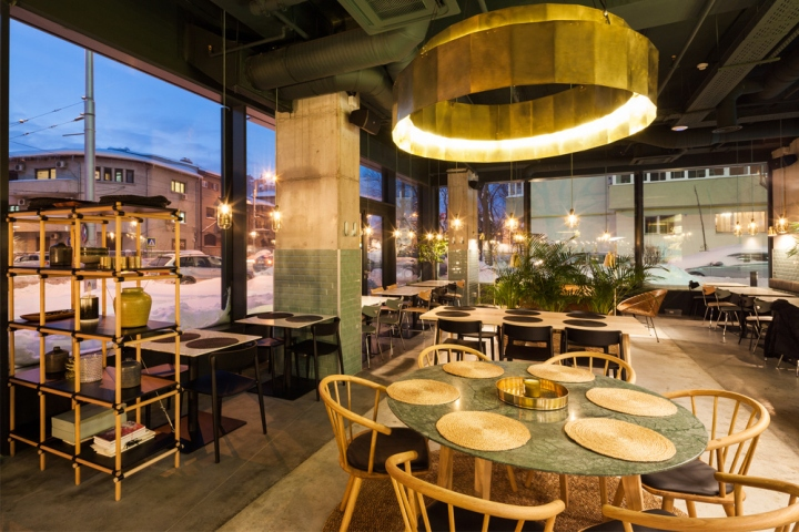kane world food studio restaurant bar by bogdan ciocodeica bucharest romania. Black Bedroom Furniture Sets. Home Design Ideas