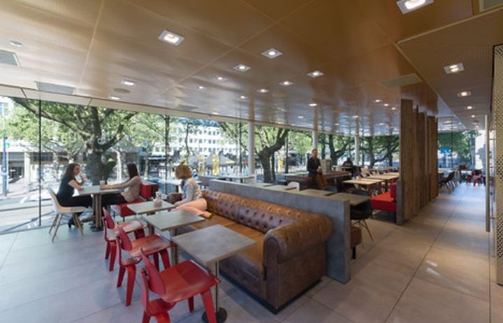 Mcdonald s restaurant by mei architects rotterdam