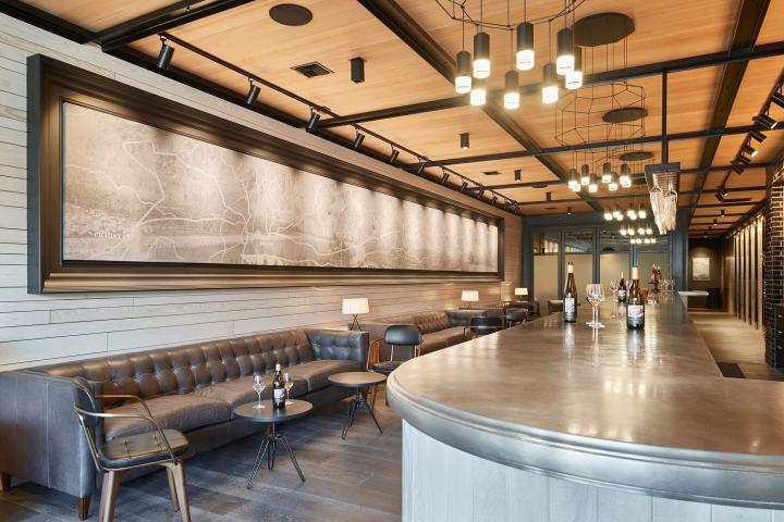 Rocky Pond Winery Tasting Room By Skb Architects Chelan