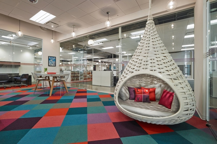 Stantec Has Designed The New Offices Of Textile Company Valley Forge Fabric Located In Fort Lauderdale Florida Family Owned Fabrics Is