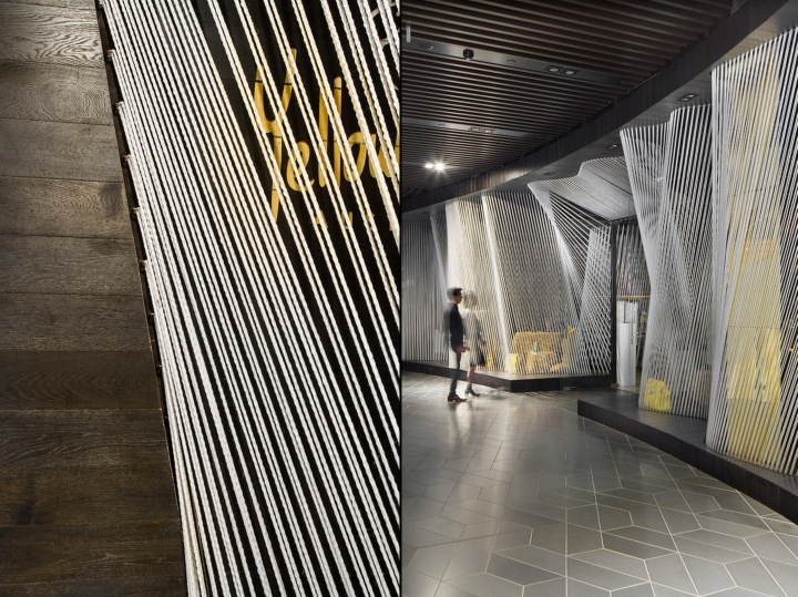 187 Yellow Earth Flagship Store By Tandem Design Studio
