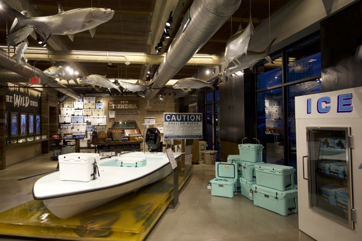 yeti flagship store by lauckgroup austin texas