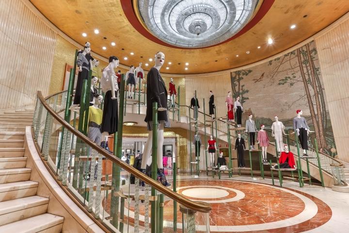 Grand Foyer Zara : Zara flagship store by matteo thun partners milan italy