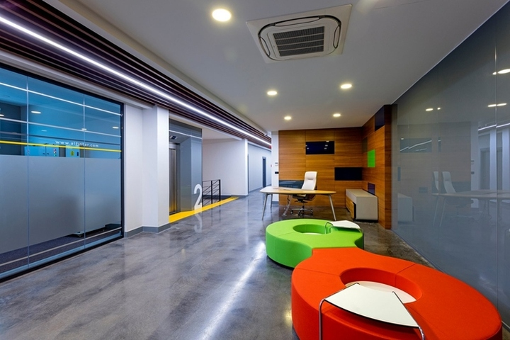 Also By Integrating Graphic Design KST Aimed To Provide Institutional Vision From Transparent Meeting Rooms