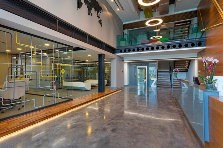 Alt ntar agriculture company offices by kst architecture for Retail design companies london