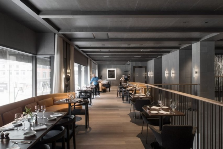 at six hotel by universal design studio stockholm sweden retail design blog. Black Bedroom Furniture Sets. Home Design Ideas
