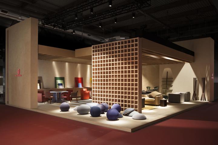 Exhibition Stand Design Italy : Baleri italia stand at milan design week italy