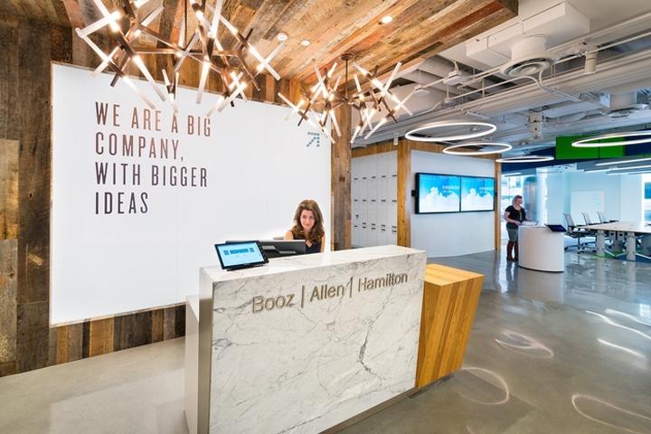 Booz allen hamiltons innovation center office by otj architects