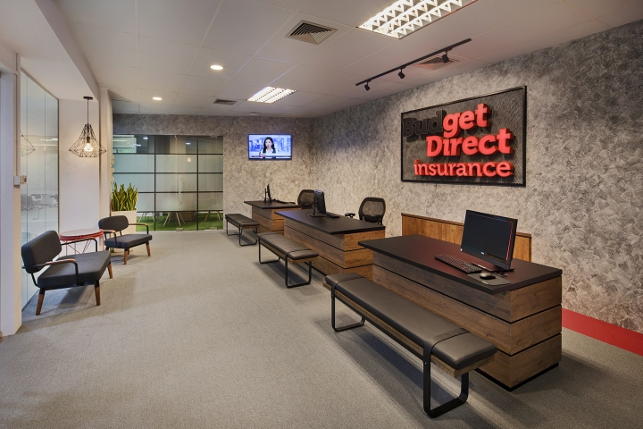 Budget Direct Insurance Office By Kyoob Id Retail Design