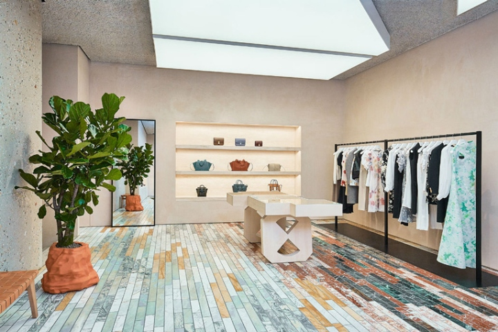 The new Céline store carries the brand s full range of apparel fceea120a4c2f