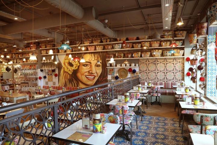 Comptoir libanais restaurant by studio 48 london london - Comptoir restaurant london ...