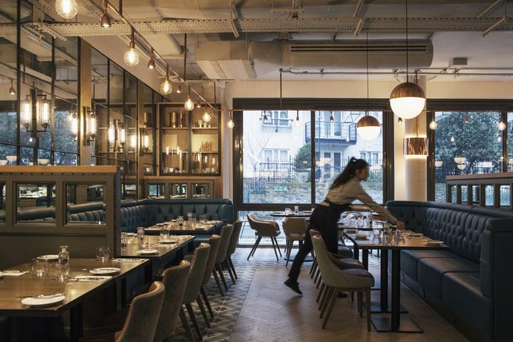 Restaurant Kitchen Pass doubletreehilton kingstondesignlsm, london – uk » retail