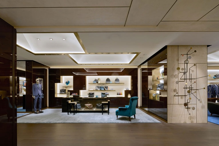 5fdbd3015dfb Fendi adds to the shockwaves surrounding the opening of Ginza Six, Tokyo s  newest luxury playground, with a supersized flagship that is the largest ...
