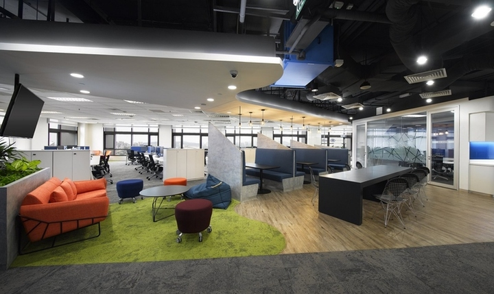 Ge office by steven leach group kuala lumpur malaysia for Office design malaysia