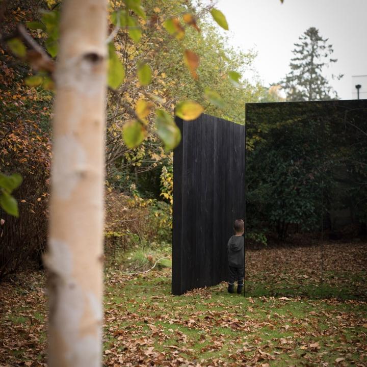 """""""Treehouse"""" garden pavilion by Scott Kyson"""