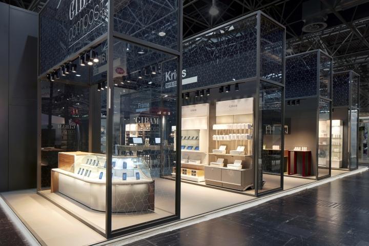 Design Düsseldorf gibam composit stand by anidride design at euroshop 2017 düsseldorf