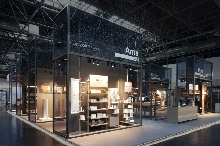 Expo Stands Trade Fair 2017 : Gibam composit stand by anidridedesign at euroshop