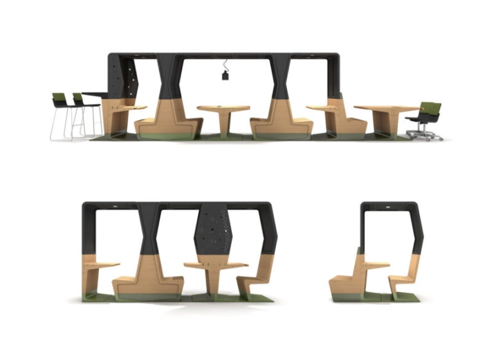 Http://design Milk.com/hubb Modular Furniture  For Ever Changing Learning Environments/