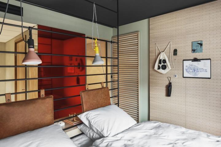 hobo hotel by studio aisslinger stockholm sweden. Black Bedroom Furniture Sets. Home Design Ideas