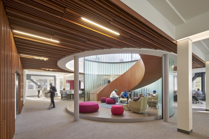 Kapor center for social impact by fougeron architecture - Oakland community college interior design ...