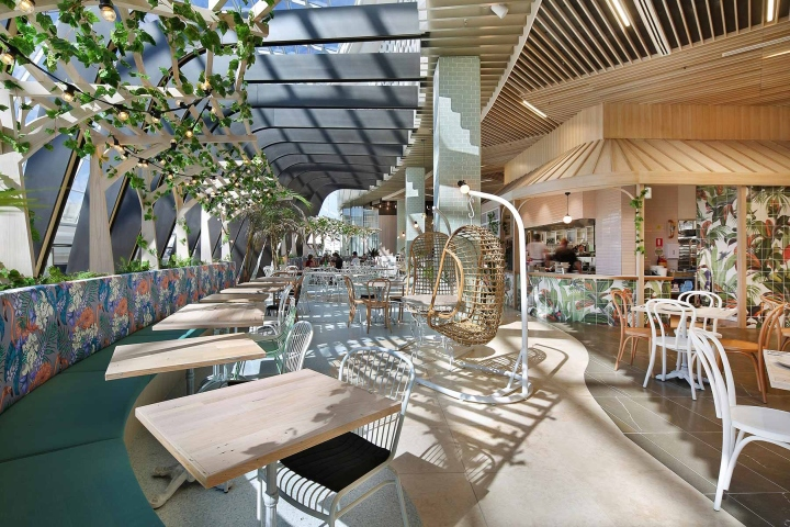 Mezz Kitchen And Bar By Studio Y Chadstone Australia