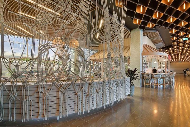 Mezz Kitchen And Bar By Studio Y Chadstone Australia