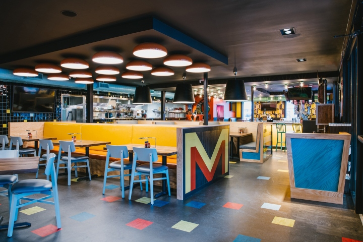 187 Mellow Mushroom Restaurant By Square Feet Studio