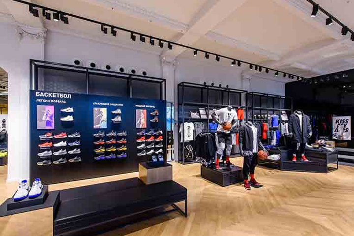 187 Nike Flagship Store Moscow Russia