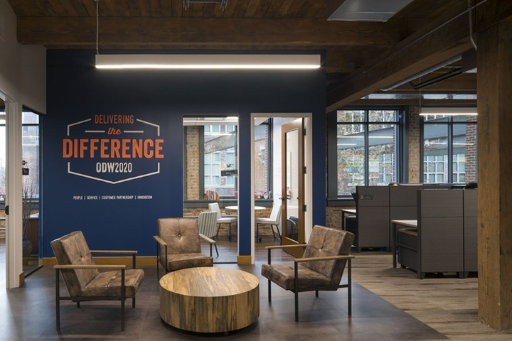 M A Architects Has Designed The New Offices Of Logistics Company ODW Located In Columbus Ohio As Family Owned With 40 Years