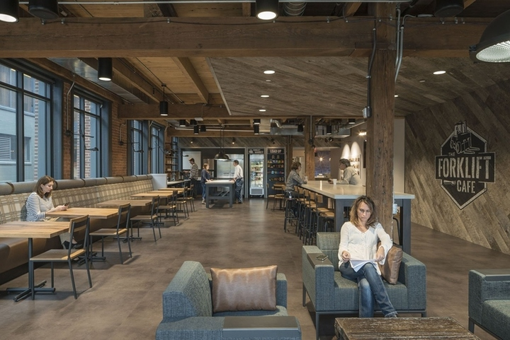 187 Odw Logistics Office By M A Architects Columbus Ohio