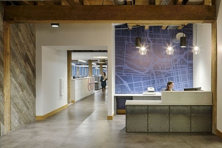 Odw Logistics Office By M A Architects Columbus Ohio Retail Design Blog