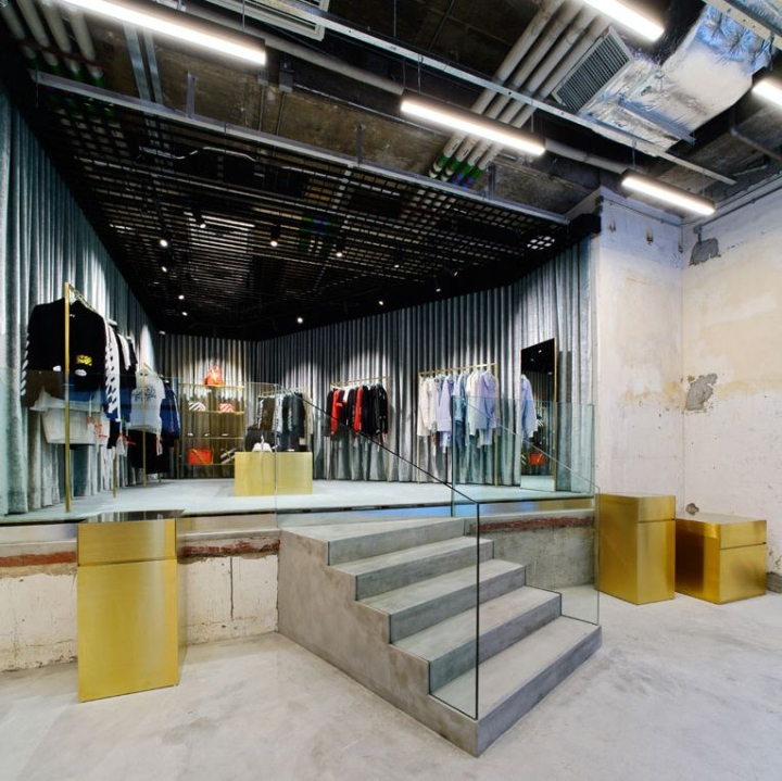 Off white store hong kong retail design blog for 11th floor apparel