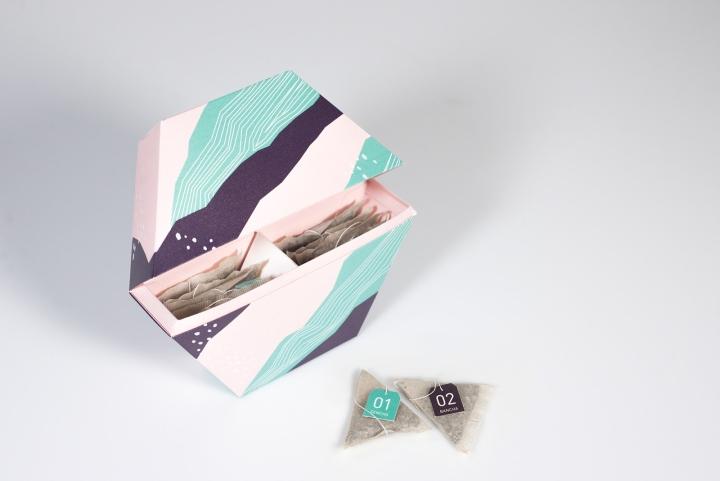 SAIKAI Snacks Tea Packaging