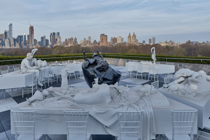 Roof Garden Metropolitan Museum Of Art Part - 40: U201cRather Than A Mirror Of Facts, The Museum Becomes A Version Of Them.u201d The  Installation Is On Show At The Metu0027s Main Fifth Avenue Location From 14  April To ...