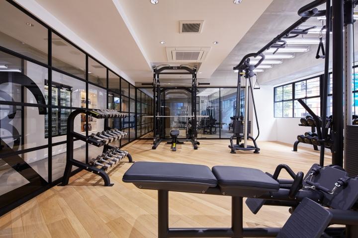 The body gym by fan inc tokyo japan retail design