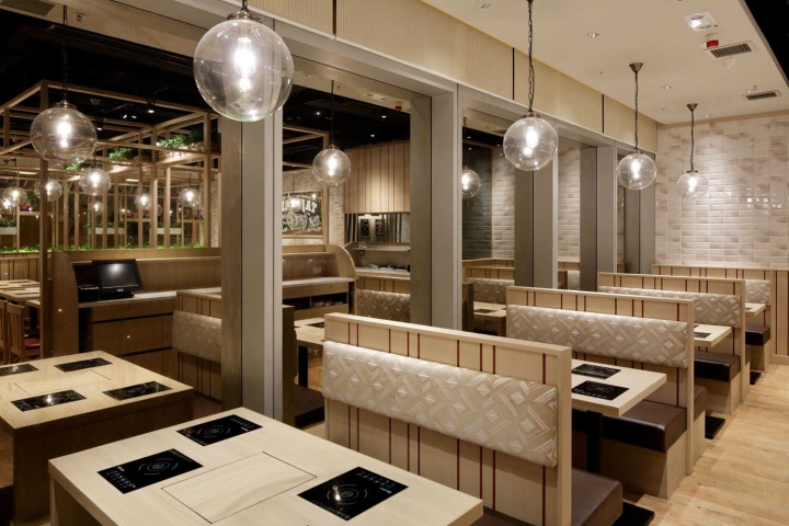 Retail design — tajimaya shabu restaurant by