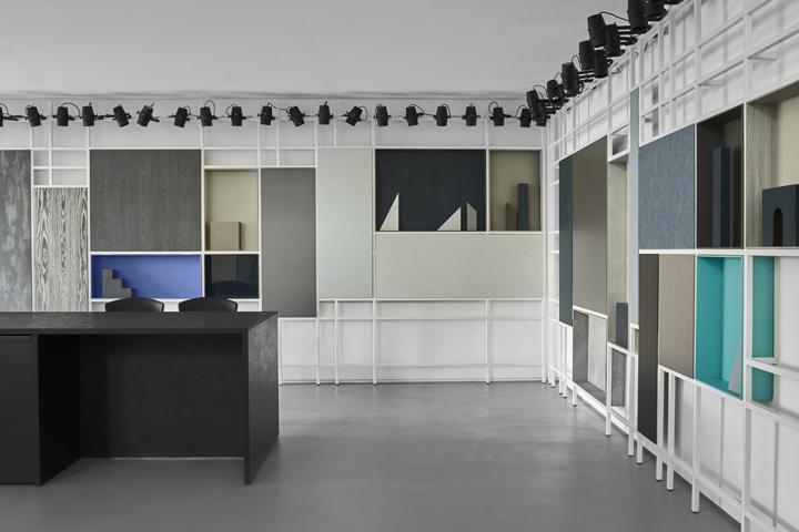 意大利四元素Cleaf展厅设计