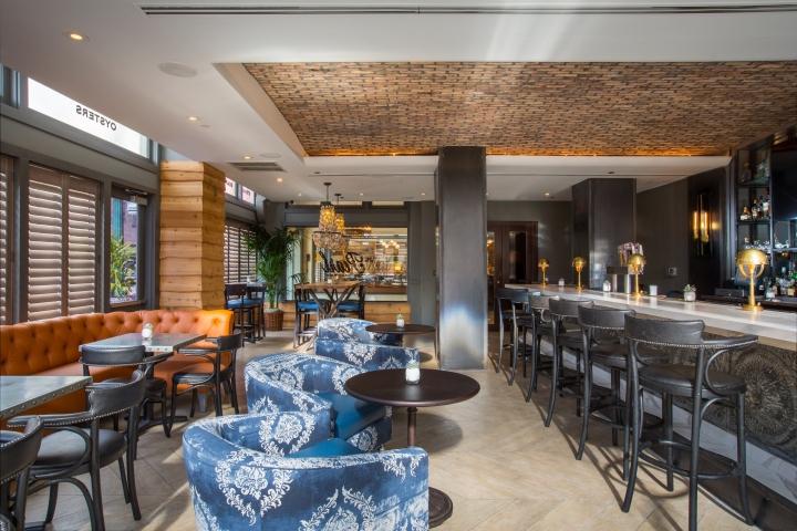 the pearl restaurant bar by h3d hospitality design houston texas rh retaildesignblog net