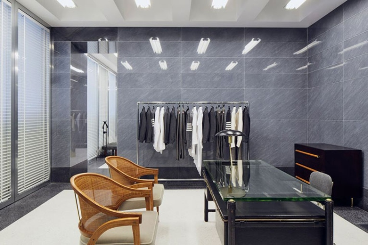 187 Thom Browne Store By Asa Studio Albanese Milan Italy