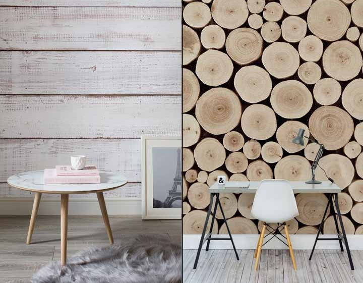 Very best Wood-Effect Wonders wallpapers by Murals Wallpaper » Retail Design  UG37