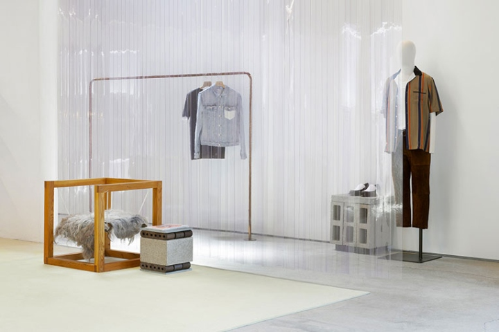 As Such It Features Collaborations With Brands And Entities That Fit The Hybrid Retail Concept Largely Defined By Free Standing Partition Walls