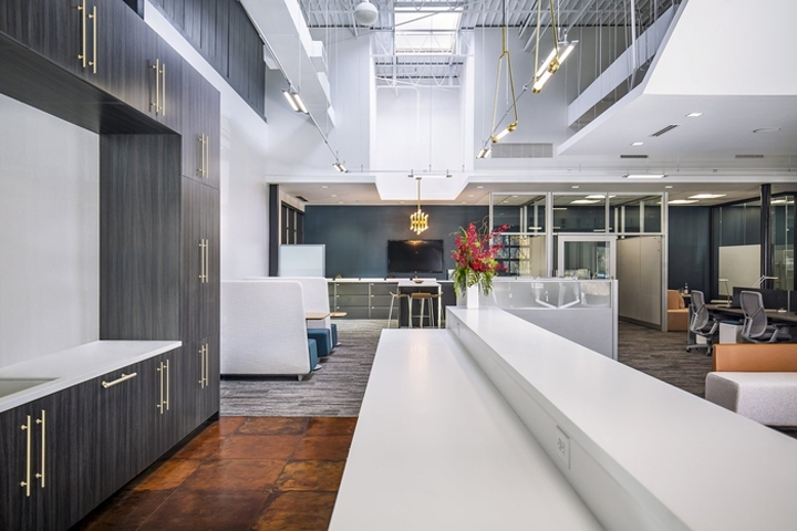 NELSON Designed The Showroom Of Furniture Company Allsteel Located In Atlanta Georgia When Asked To Design Their