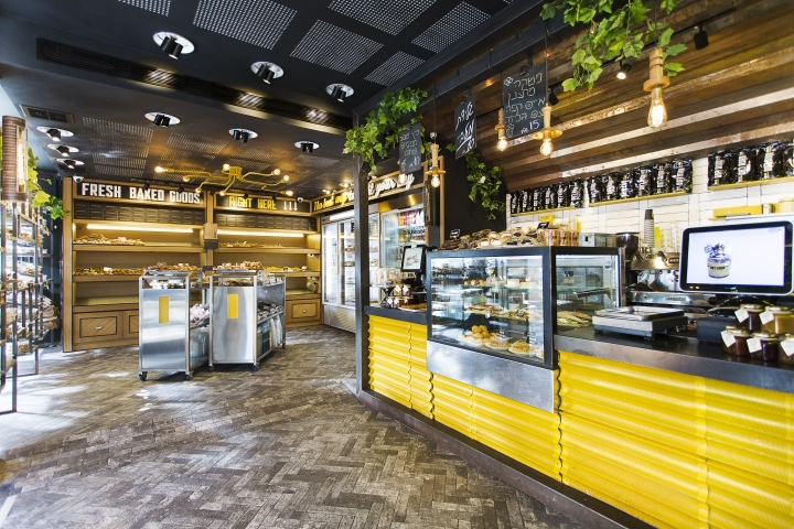 187 Bread Station Store By Dana Shaked Ramat Gan Israel