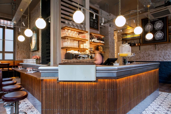 Populaire Comptoir Cafe & Wine by B3 Designers, London – UK » Retail Design Blog HZ51
