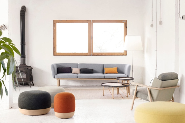Created By Design Duo Iratzoki Lizaso For Alki, The Egon Collection Of  Furniture Consists Of A Sofa System, Coffee Tables, And Poufs Perfect For  Any Type Of ...